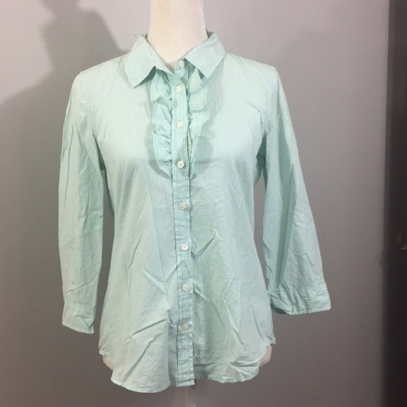 Old Navy Tops - Old Navy Striped Dress Shirt